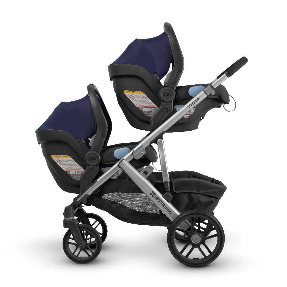 vista double twins carseats
