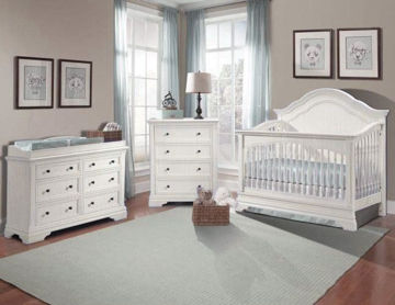Picture of Stella Athena 3 Piece Nursery Set - Convertible Crib
