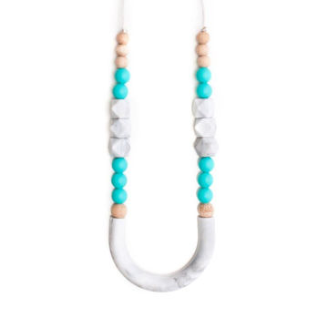 Picture of Teething Necklace - Miami Turquoise - 17""