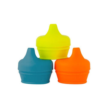 Picture of Snug Spout Universal Sippy Cup Conversions - Boy Colors 3 pack