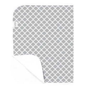 Picture of Deluxe Change Pad Flannel- Lattice Grey
