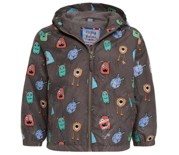 Picture of Color Changing Grey Monster Raincoat