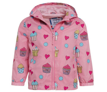 Picture of Color Changing Pink Cupcake Raincoat