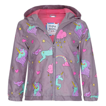 Picture of Color Changing Purple Unicorn Raincoat