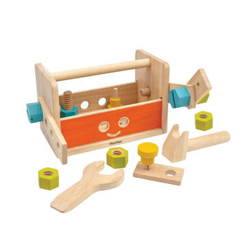 Picture of Robot Tool Box - by Plan Toys