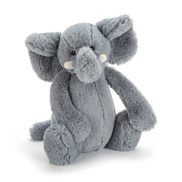 Picture of Bashful Grey Elephant Medium - 12""