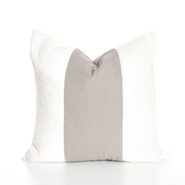 "Picture of 18"" X 18"" Band Pillow – Dove"