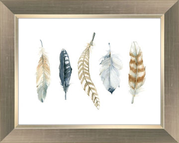 "Picture of Golden Feather II - 12"" x 16"""
