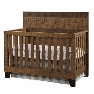 Picture of Urban Rustic Convertible Crib - Brushed Wheat