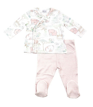 Picture of Angel Dear Pink Elephants Take Me Home Set - Bamboo