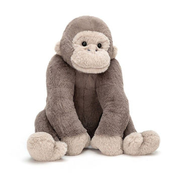 "Picture of Gregory Gorilla - Medium - 10"" x 6"" - Beautifully Scrumptious by JellyCat"
