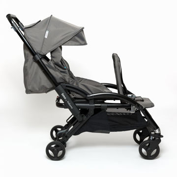 Picture of Limo Stroller - Single to Double Expandable Stroller - Carbon Gray by Vidiamo