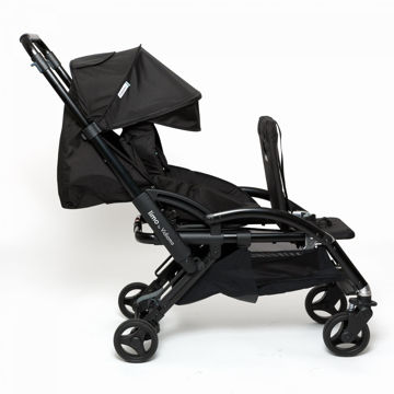 Picture of Limo Stroller - Single to Double Expandable Stroller - Black by Vidiamo