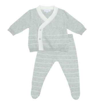 Picture of Angel Dear Euro Knit Take-Me-Home Set - Light Gray